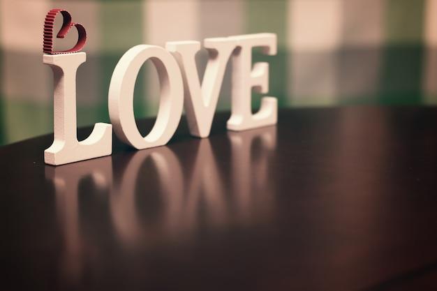 Текстовое письмо в форме любви