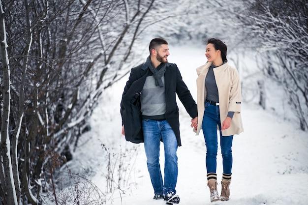История любви зимой