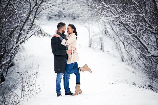 Love story in winter