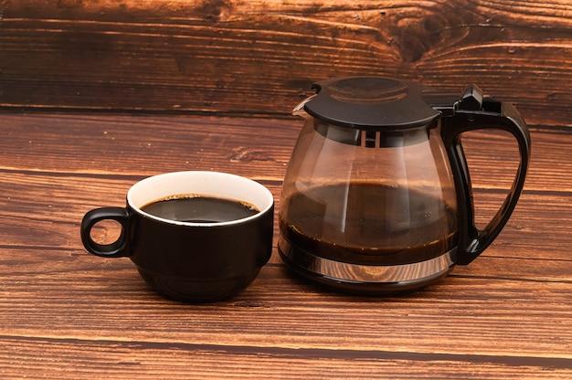 コーヒーを飲むのが大好きエネルギーコーヒーを飲む