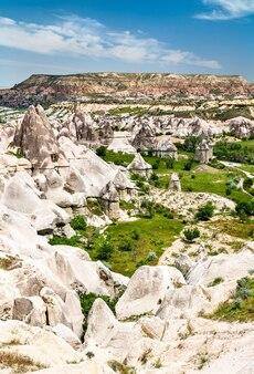 Love valley in goreme national park cappadocia, turkey