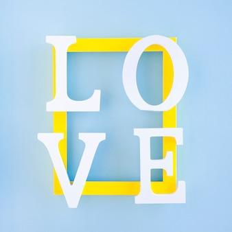 Love writing on frame
