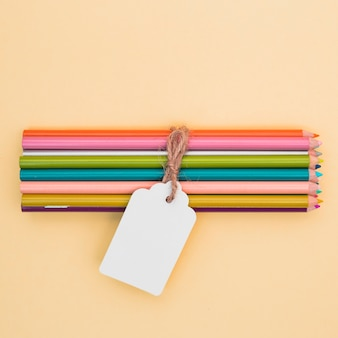 Lovely artist concept with colorful pencils
