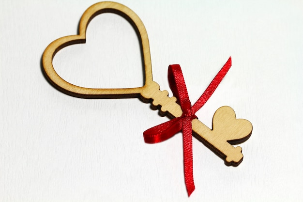 バレンタインデーの素敵なカード