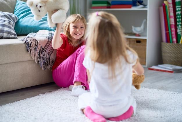 幸せな子供時代の素敵な瞬間