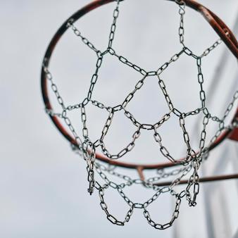 ゲーム用ローアングルバスケット