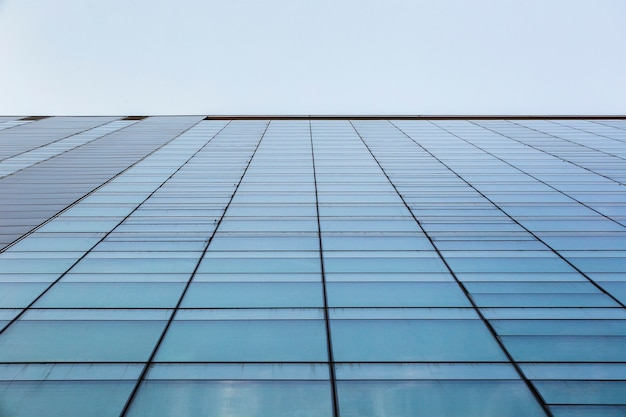 Low angle of modern building architecture