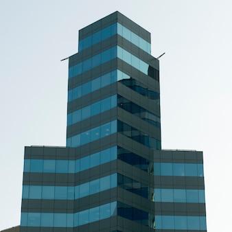 Low angle view of a modern building, santiago, santiago metropolitan region, chile