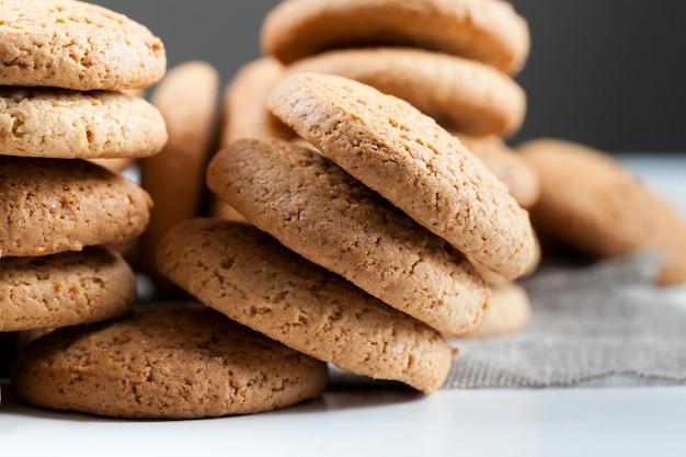 低カロリーオートミールクッキー