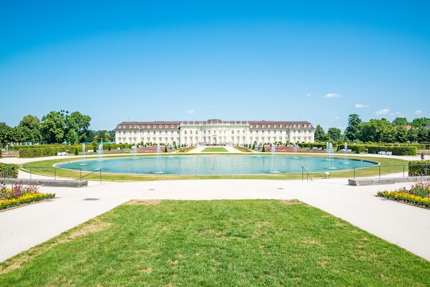 Ludwigsburg palace (schloss ludwigsburg) in baden wurttemberg, germany