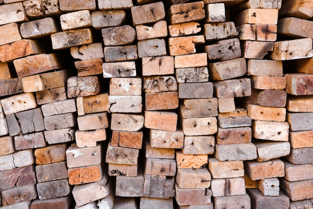 Lumber mill with full of cutting woods warehouse. factory and production. industry resource