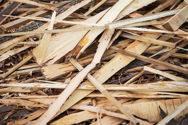 材木、鉋板。大工のテクスチャと背景。工業用木材。