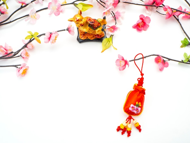 Lunar new year and chinese new year
