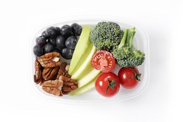 Ланч-бокс со здоровой пищей