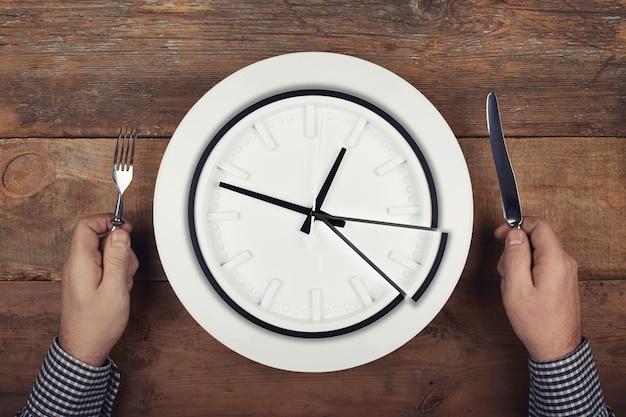 Концепция времени обеда.