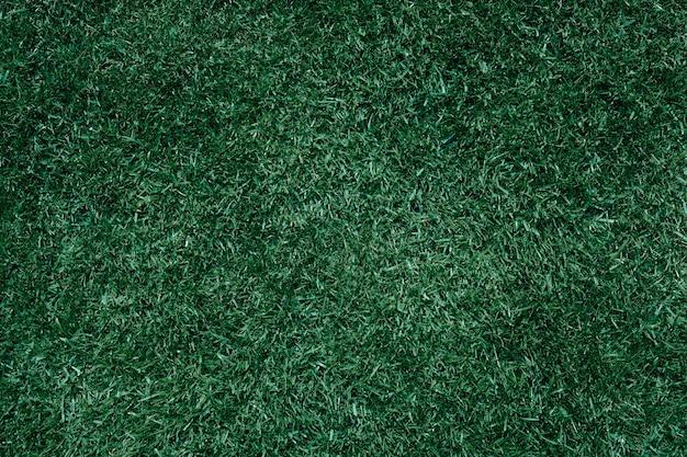 트렌디 한 색상의 무성한 녹색 잔디는 스포츠 잔디 축구 잔디 초원을 보입니다.