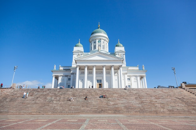 Lutheran cathedral in helsinki, finland