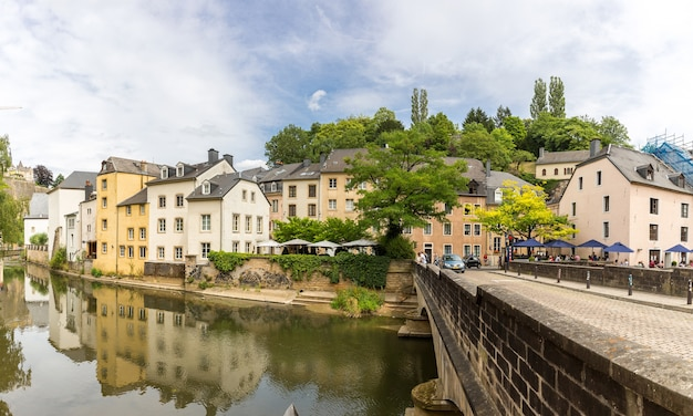 Luxembourg city, downtown