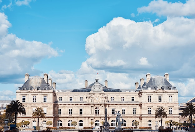 Luxembourg palace in paris