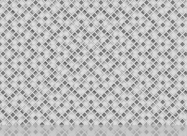 Luxurious diagonal white bars in modern grid geometic pattern wall decor background