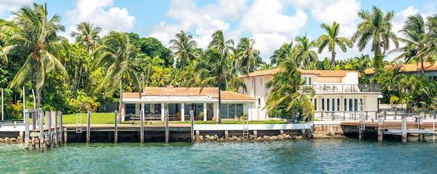 Роскошный особняк в майами бич флорида сша