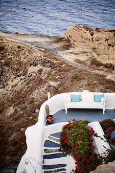 Luxury apartment in oia, santorini, greece