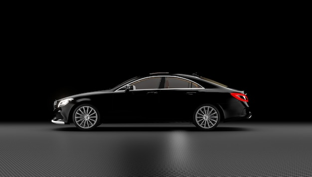 Luxury car background
