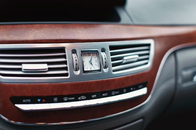 Luxury car clock