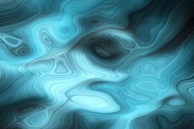 Роскошный темно-синий океан жидких цветов фона