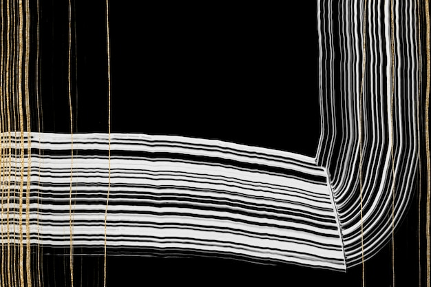 Роскошный золотой текстурированный фон в черном абстрактном искусстве