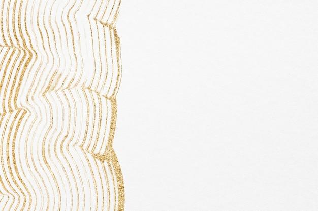 Роскошный золотой текстурированный фон в белом абстрактном искусстве
