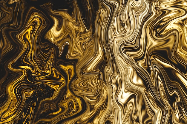 Luxury golden liquid marble background