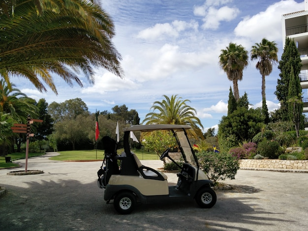 Luxury golf resort