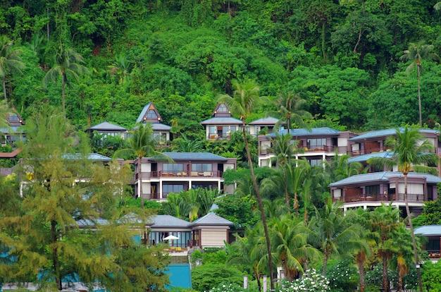 Luxury hotel in the rock