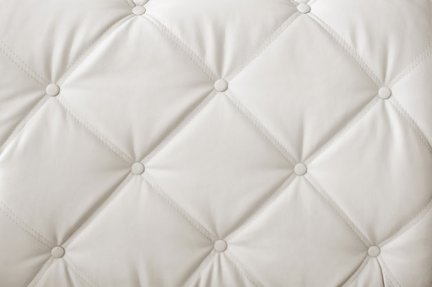 Luxury and modern style background with classic white and gray leather texture
