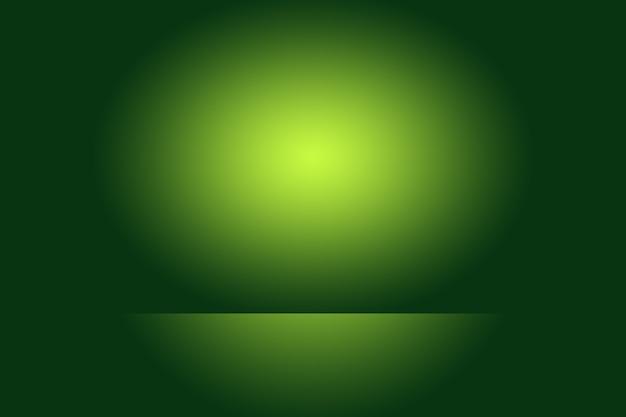 Роскошный простой зеленый градиент абстрактный фон студии пустая комната с пространством для вашего текста и изображения.