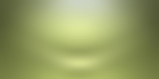 Роскошный простой зеленый градиент абстрактный фон студии пустая комната с пространством для вашего текста и изображения