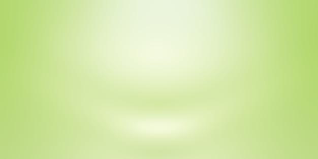 Lusso pianura verde sfumato astratto studio sfondo stanza vuota con spazio per il testo e l'immagine