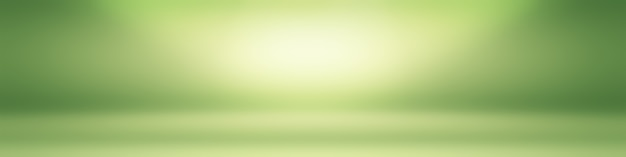 Luxury plain green gradient abstract studio background empty room with space for your text and picture.