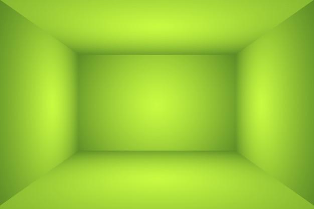 豪華なプレーングリーングラデーション抽象的なスタジオ