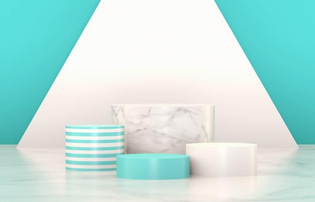 Luxury podium for product display. minimalist design