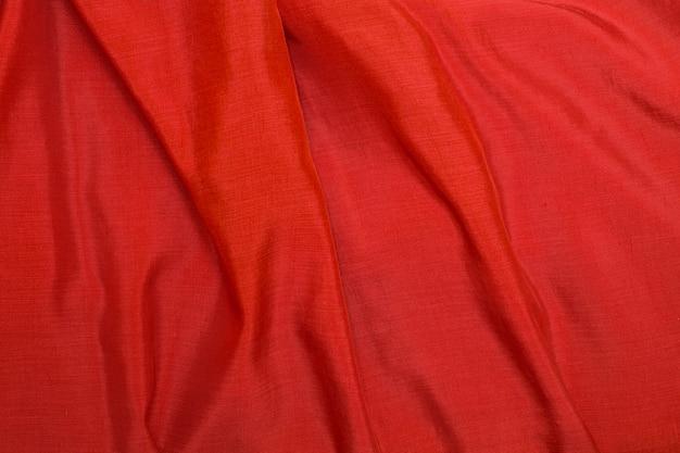 Роскошный красный шелковый фон