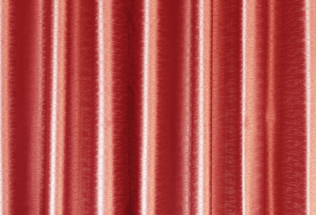 Luxury rose gold silk curtain texture for background and design art work.