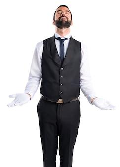 Luxury waiter pleading