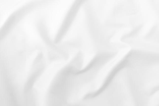 Luxury white fabric pattern texture background