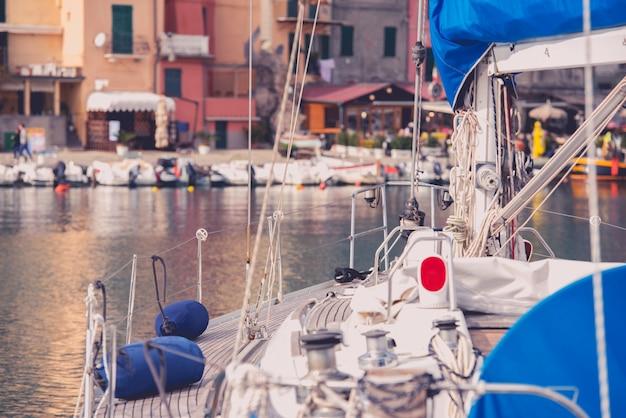 Luxury yacht mediterranean sailing