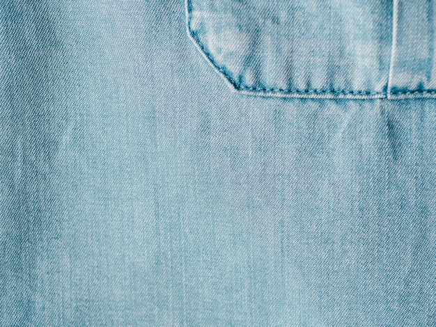 Lyocell or tencel blue denim background texture
