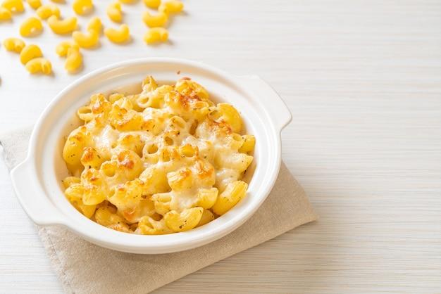 マックとチーズ、チーズソースのマカロニパスタ - アメリカンスタイル