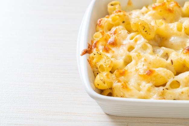 Макароны с сыром, макароны в сырном соусе по-американски