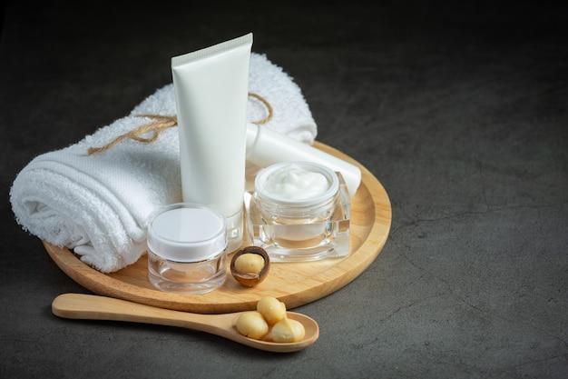 Lozione per il corpo alla macadamia crema per la pelle